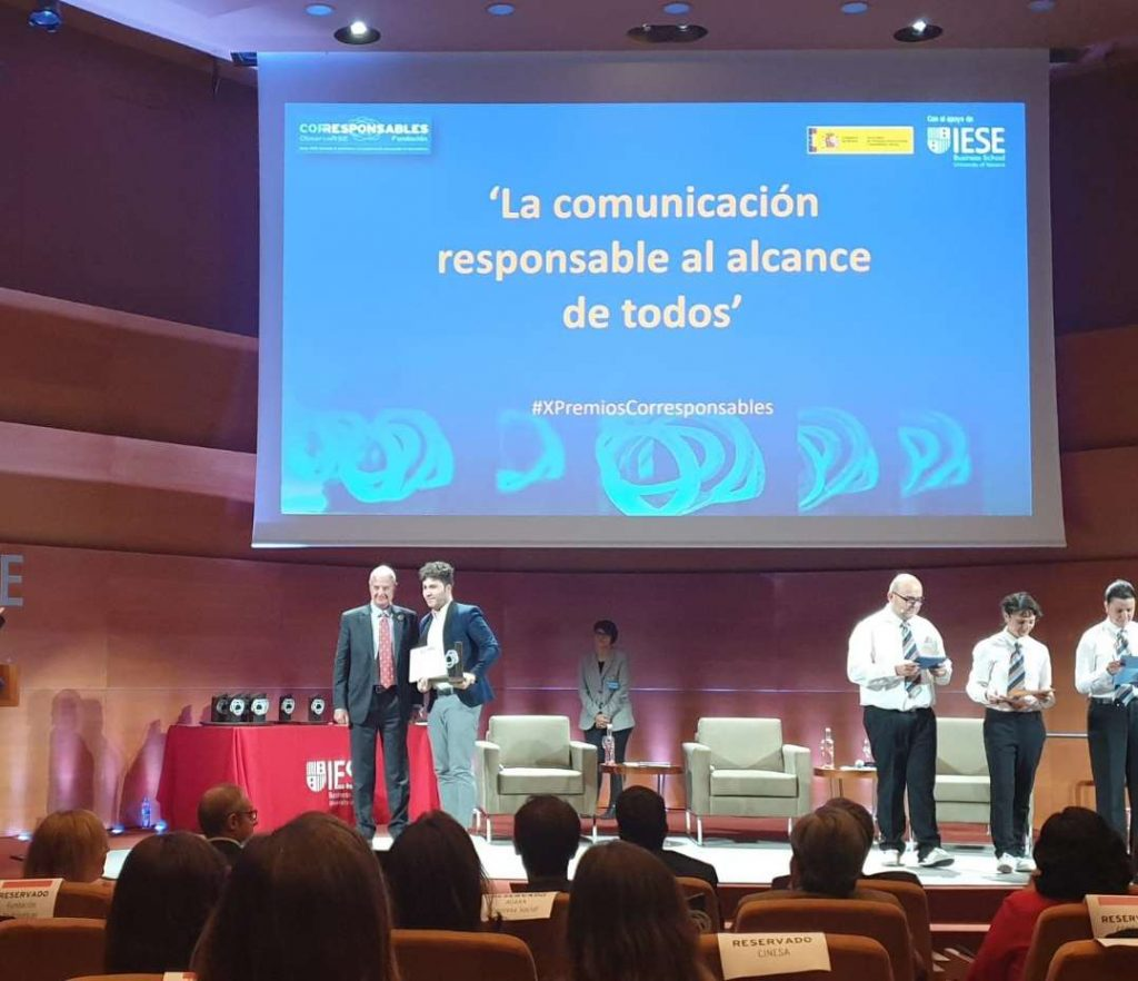 Premios Corresponsables. Fundación Juan XXIII Roncalli