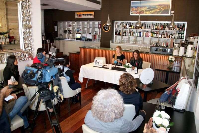 Hélène Mostertman, la propietaria del Restaurante Vino Mío de Málaga
