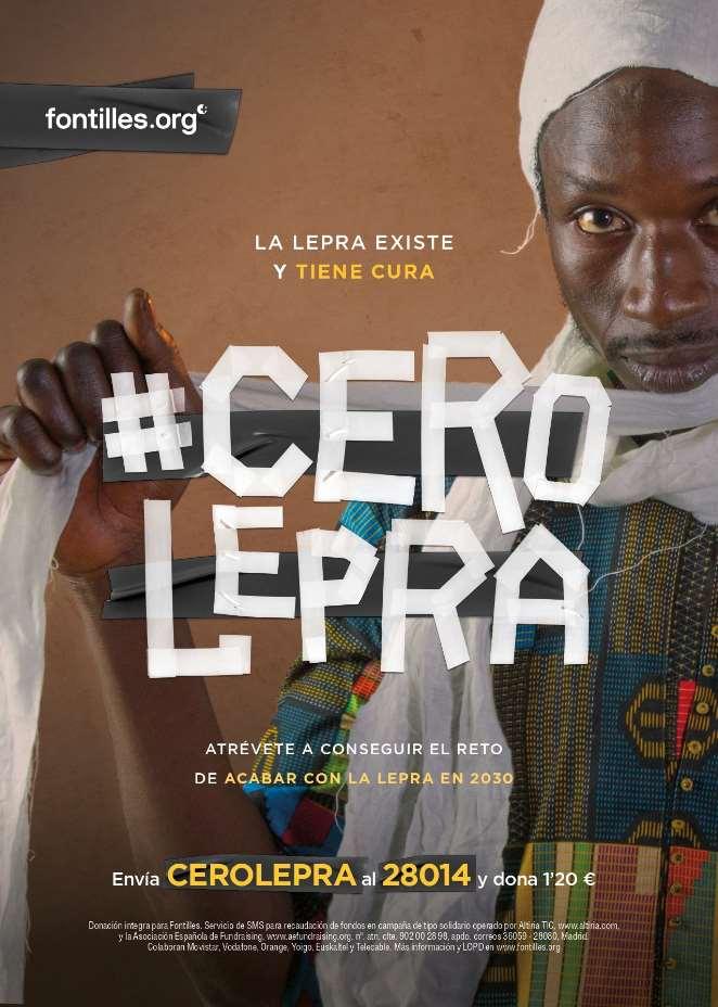 Campaña #CeroLepra para erradicar la lepra en 2030