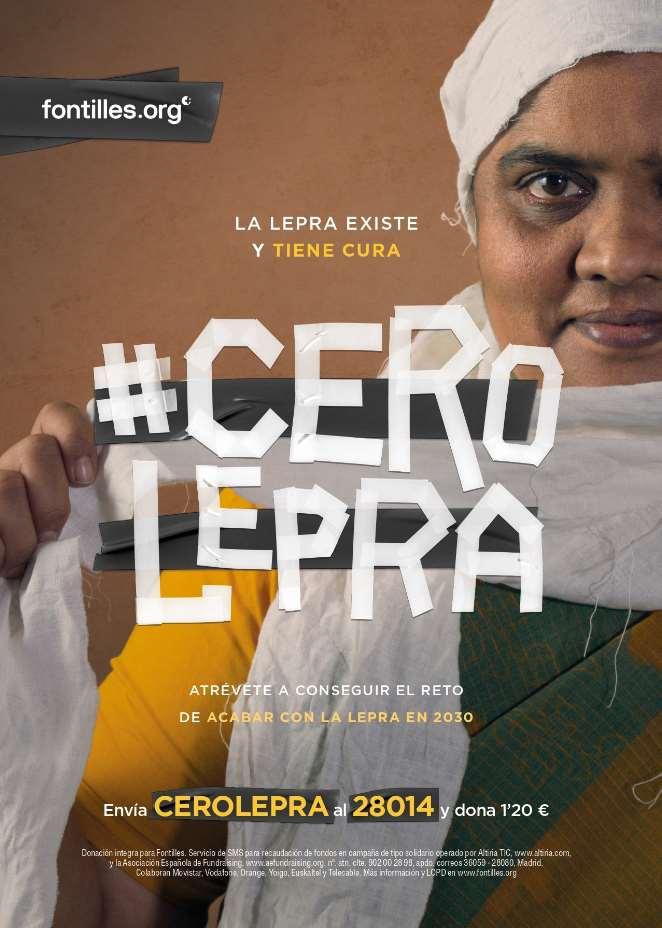 La campaña #CeroLepra se enmarca, así, en los Objetivos de Desarrollo Sostenible de la ONU