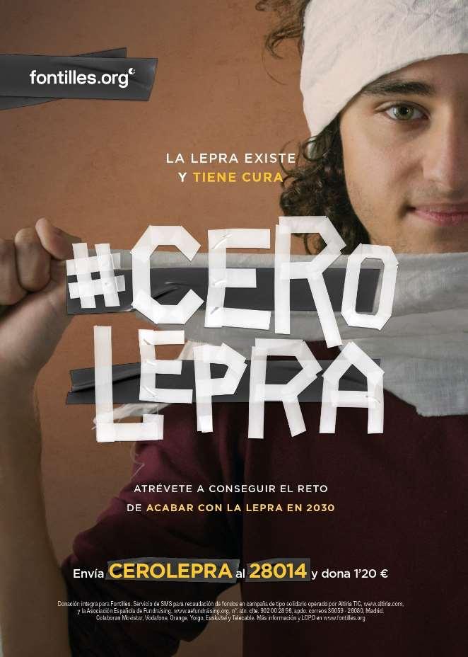 Protagonistas de los vídeos de #CeroLepra