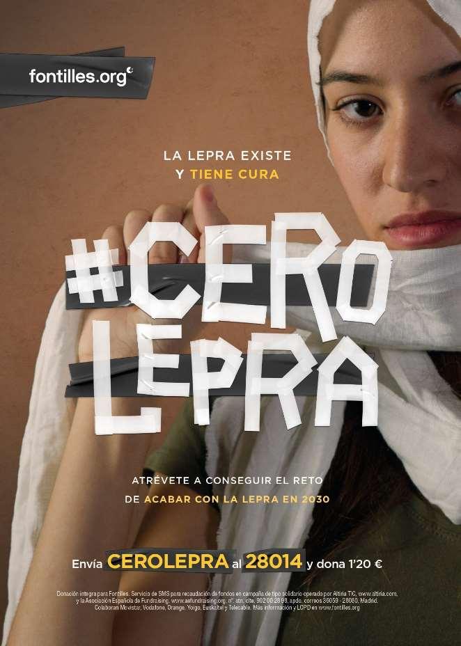 El proyecto pretende concienciar sobre la existencia de un tratamiento efectivo de cura de la lepra