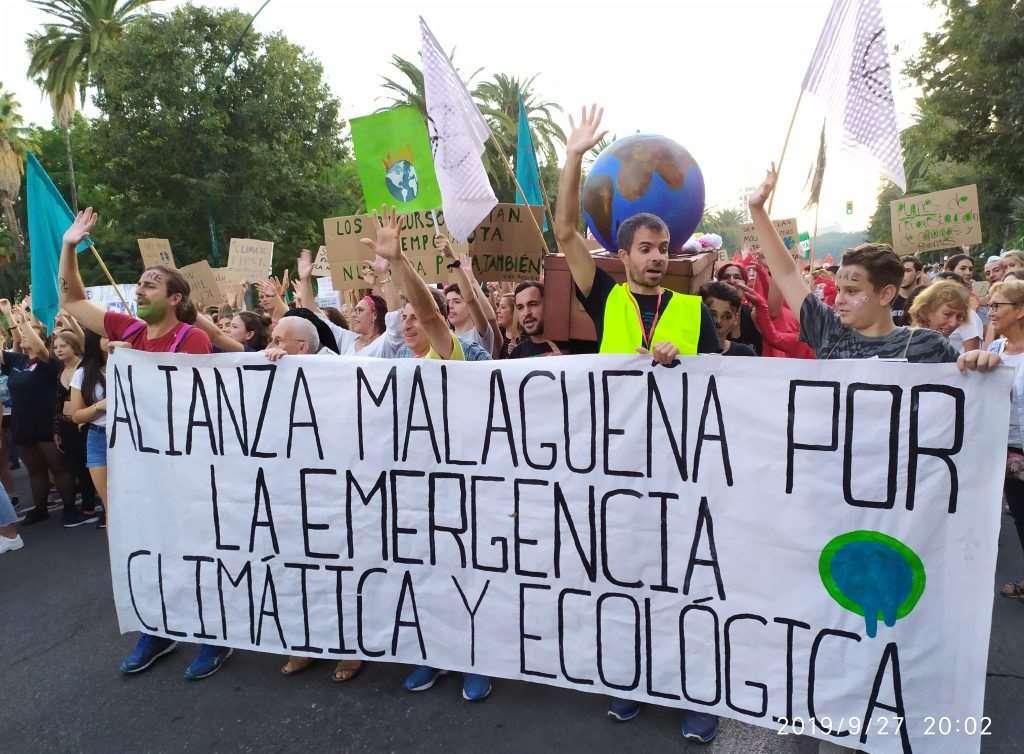 Tres días después de la primera Mesa por la Emergencia Climática de Málaga, el 29N, tendrá lugar una nueva movilización global por el clima y el futuro y la vida, impulsada por Fridays for Future (Juventud por el Clima)