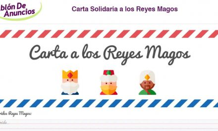 Carta a los Reyes Magos Solidaria