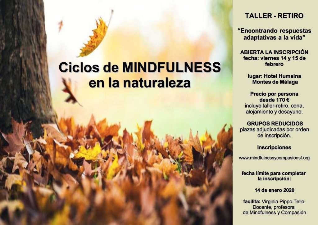Taller - Retiro MINDFULNESS en la Naturaleza - Montes de Málaga