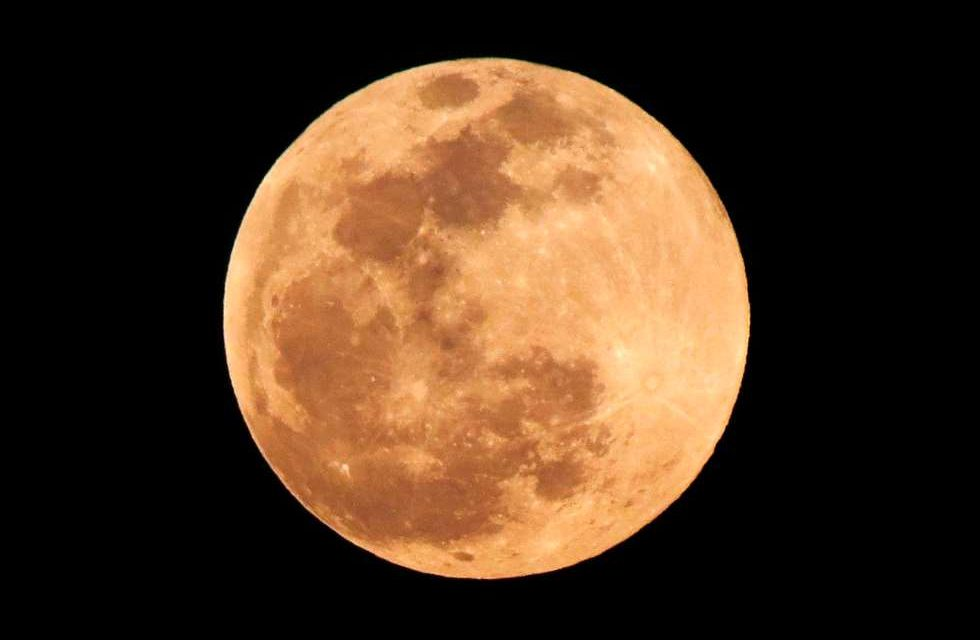 Primer eclipse lunar de 2020