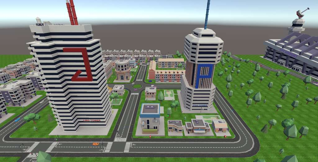 Simulador del proyecto Swarmcity. Foto cortesía de la UPM