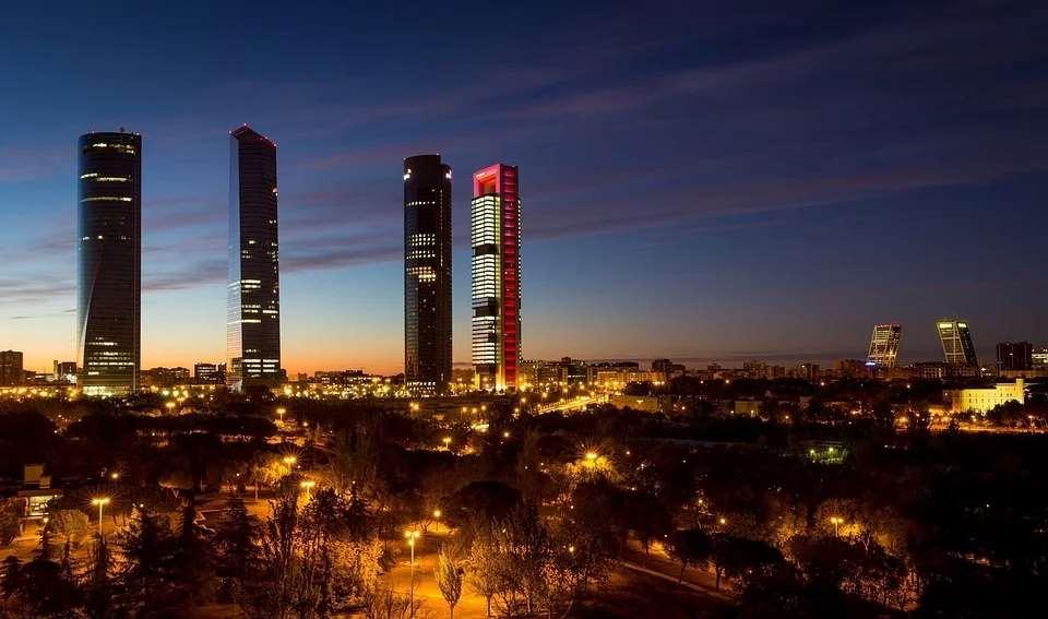 España es la 18ª mejor democracia plena del mundo. Vista de Madrid