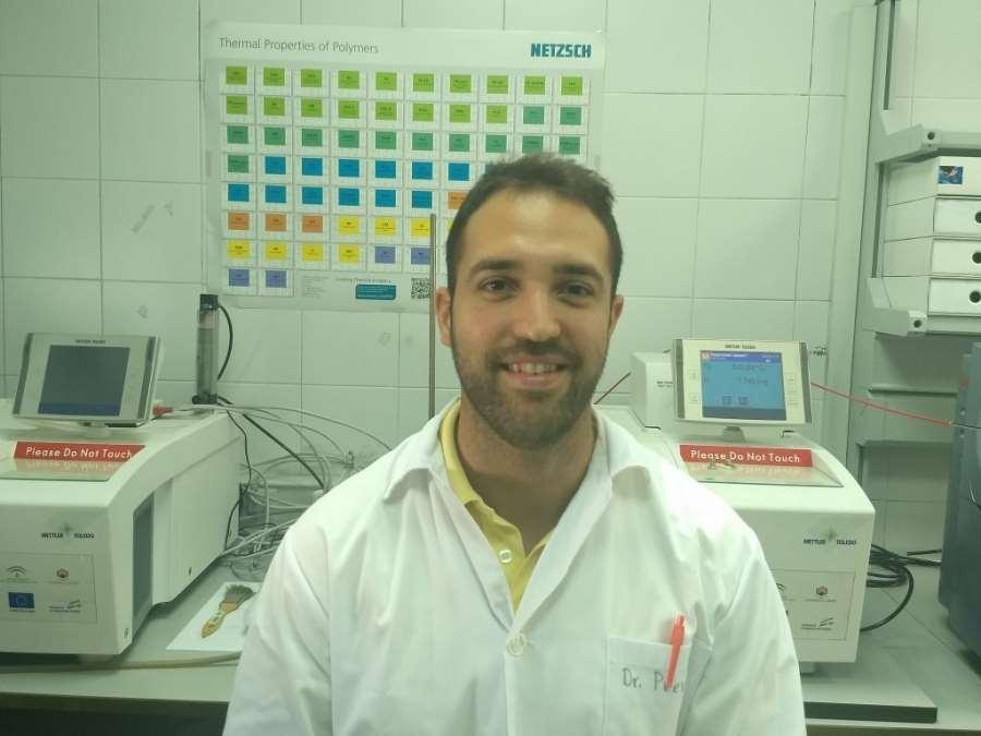 El investigador galardonado Adrián Pastor. Foto cortesía de Fundación Descubre
