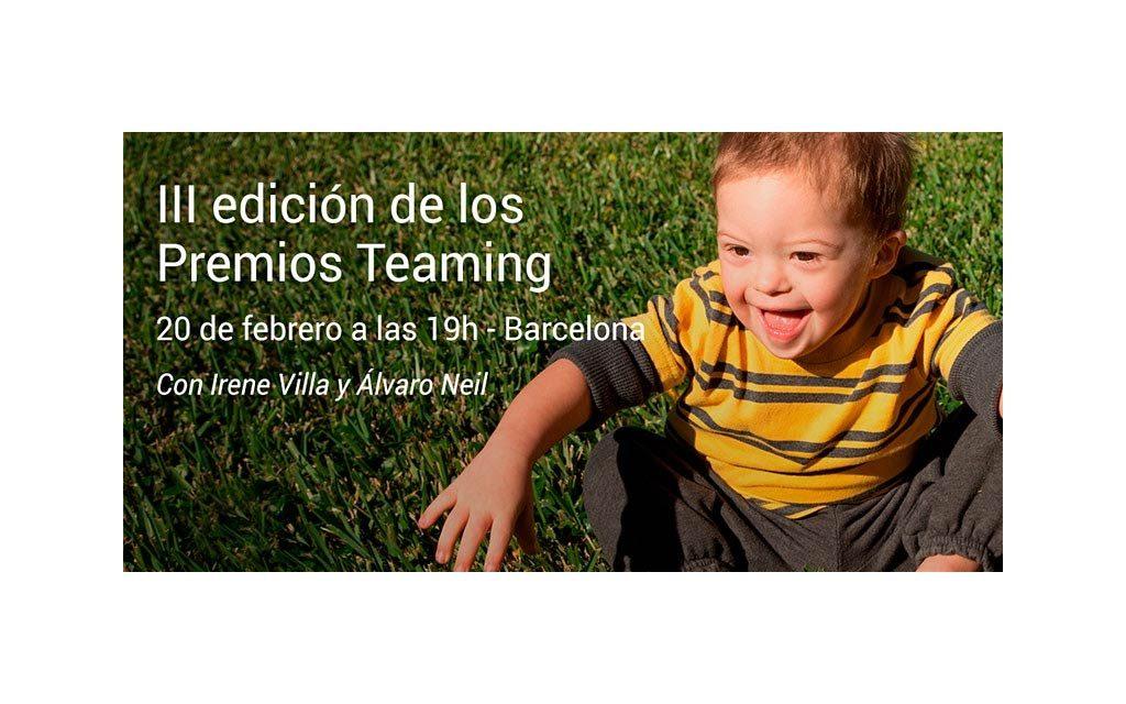 III Premios Teaming