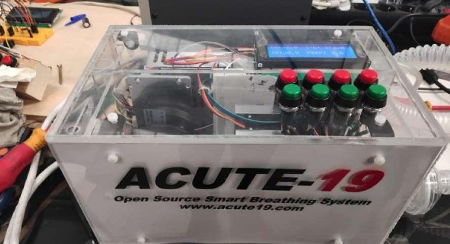 ACUTE-19: respirador mecánico de código abierto