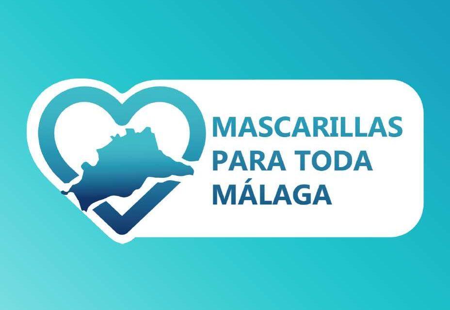 Mascarillas para toda Málaga
