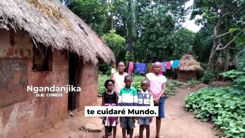 Participación de niños y niñas de todo el mundo