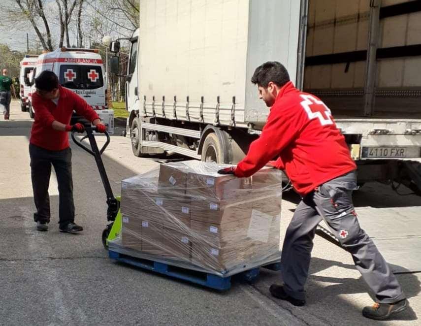 Donación de LEGO a Cruz Roja Madrid