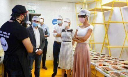 Empresas donan 14 toneladas de alimentos y más de 500.000 euros a cocinas solidarias en Madrid