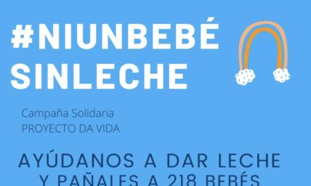 Leche y pañales para madres sin recursos de Madrid: #Niunbebesinleche