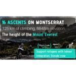 'Everesting', el desafío de subir Montserrat en bici 16 veces por una buena causa