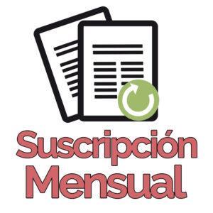 Suscripción mensual a Cuentamealgobueno