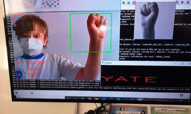 Diseñan una app para hablar en lenguaje de signos en tiempos de mascarillas