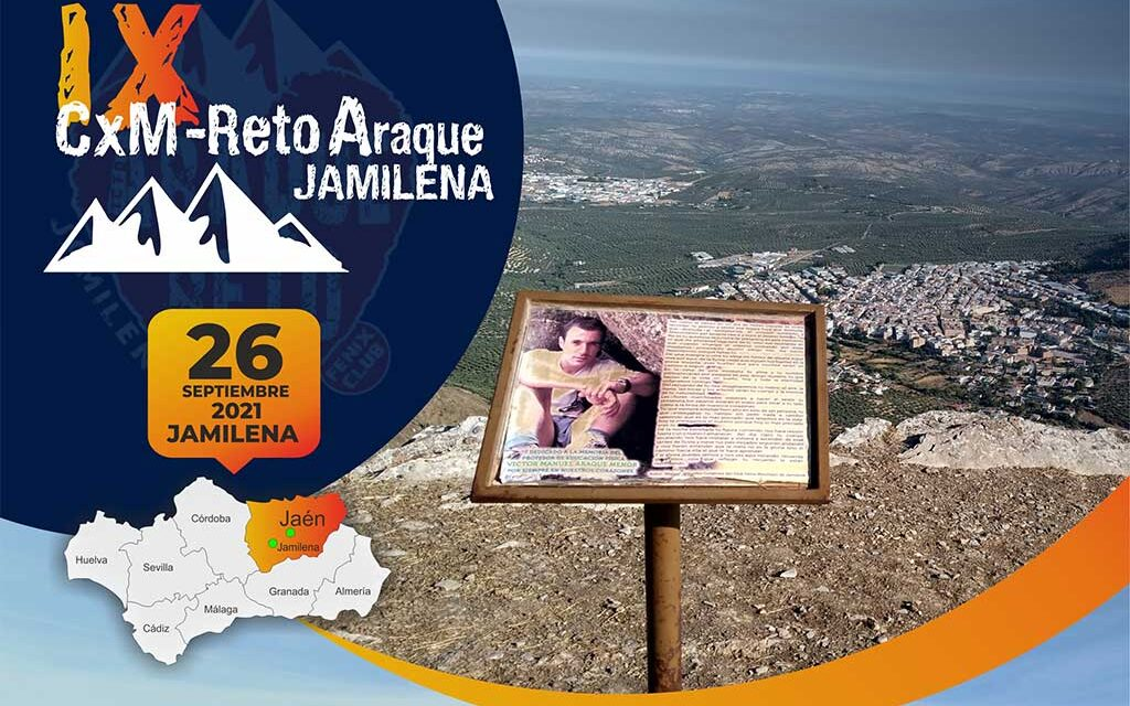 ¡Compartir es vivir! IX Trail Reto Araque Jamilena