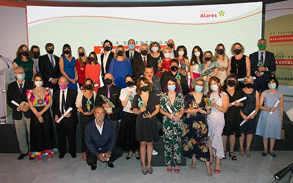Descubre a los galardonados en los Premios ALARES 2021, por su labor de conciliación e inclusión