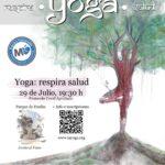 """«Yoga: respira salud"""" (y paz)"""