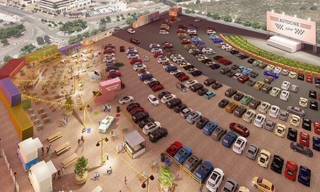 Comienzan las obras de Autocine Málaga, el segundo más grande de Europa