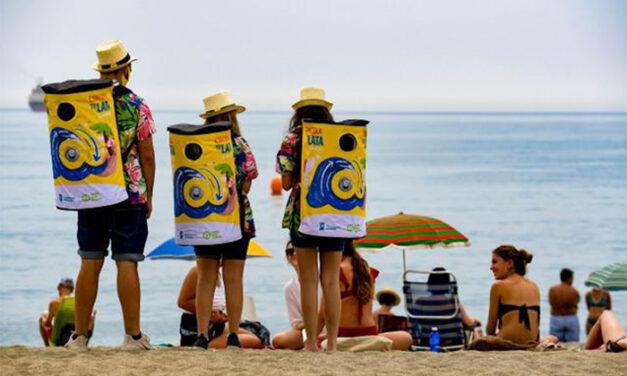 27 playas españolas impulsan el reciclaje con la campaña medioambiental de 'Cada lata cuenta'